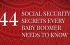 social security secrets